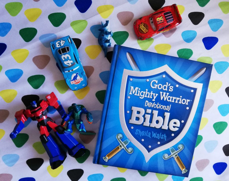 God's Mighty Warrior Devotional Bible for mighty little boys