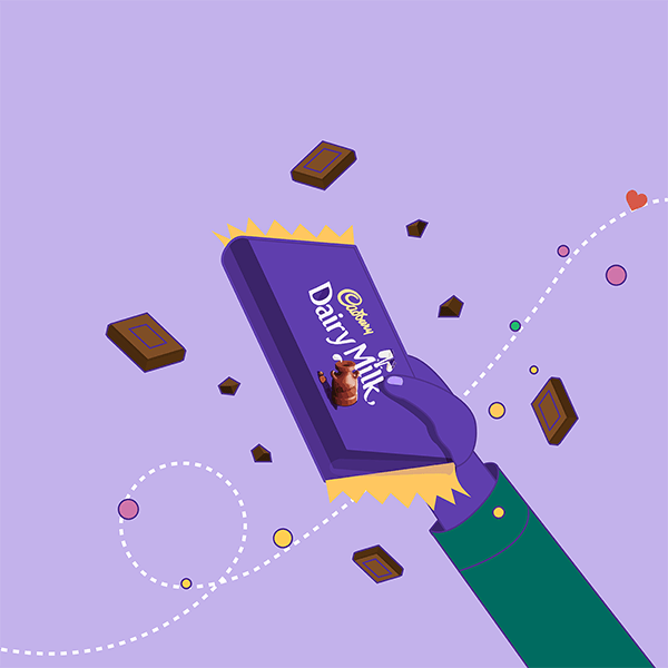 Beautiful lessons and sweet somethings with Cadbury!