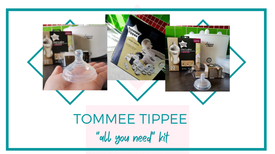 "TOMMEE TIPPEE ""all you need"" kit"
